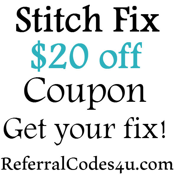 Stitch Fix Promo Code New Customer 2020, Stitch Fix Referral $25 Credit June, July, August, September, October