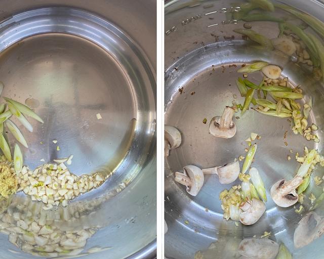 Instant Pot Ramen Soup Steps 1