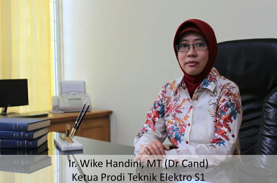 Ketua Prodi Teknik Elektro untuk FTI Jayabaya