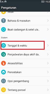 Cara Mengatur Waktu Otomatis di HP Android