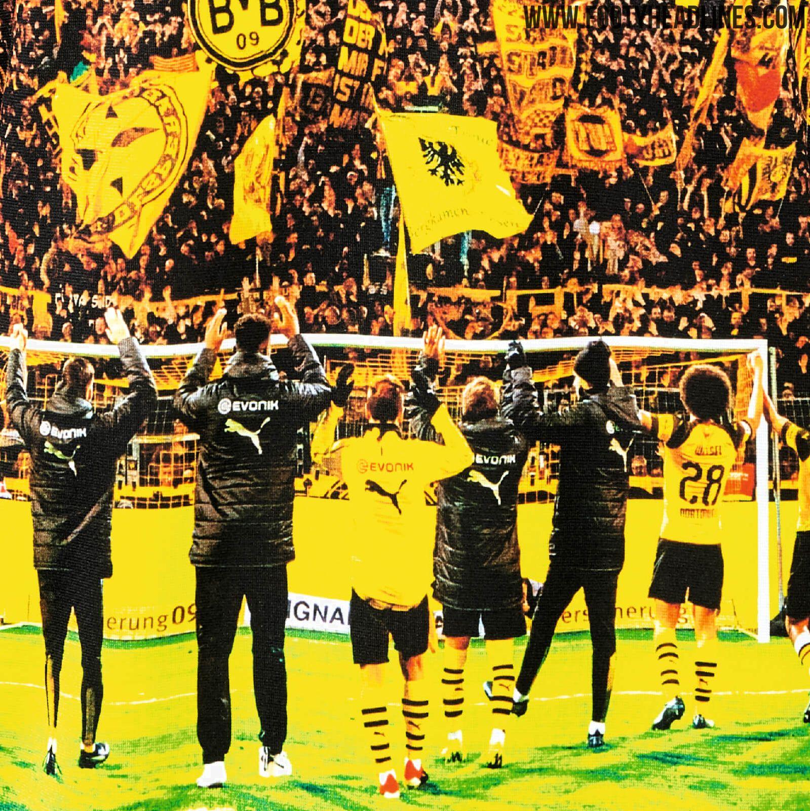 Insane Borussia Dortmund Yellow Wall Sweatshirt Released Footy Headlines