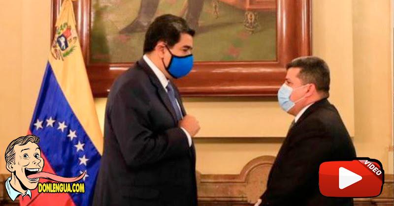 Maduro defiende a Luis Perra por la sanción que le dio la Unión Europea
