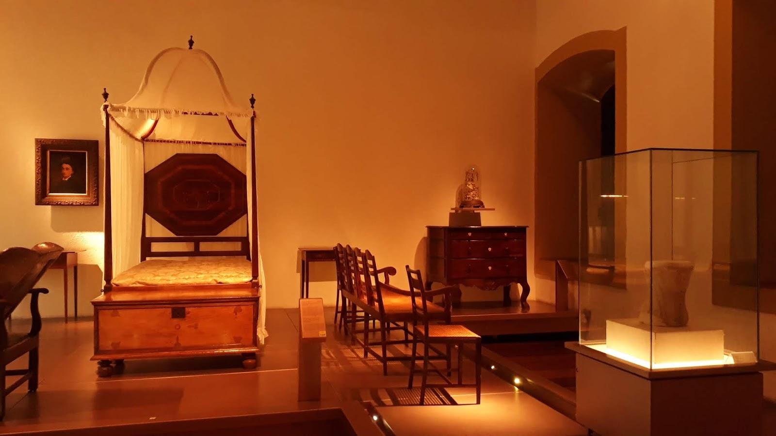 Peças da vida privada/doméstica - Museu da Inconfidência