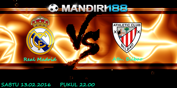 PREDIKSI REAL MADRID VS ATH. BILBAO 13 FEBRUARI 2016