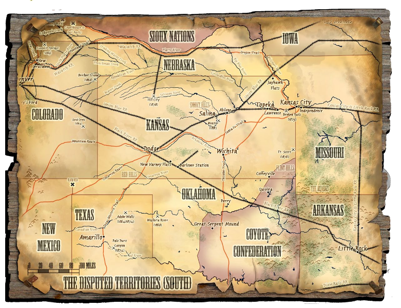 Deadlands California Map.Tales From The Savage Troll Review Last Sons Deadlands Plot