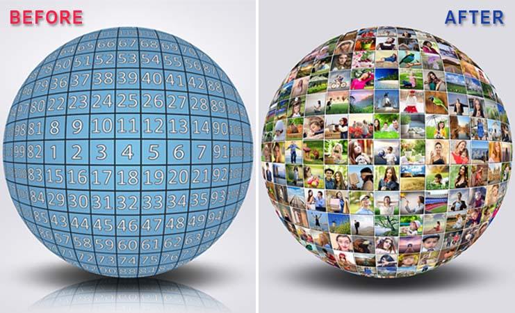 120 Photos Sphere Creator Template Pack