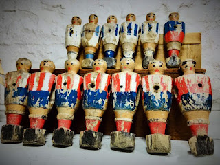 Muñecos Futbolín