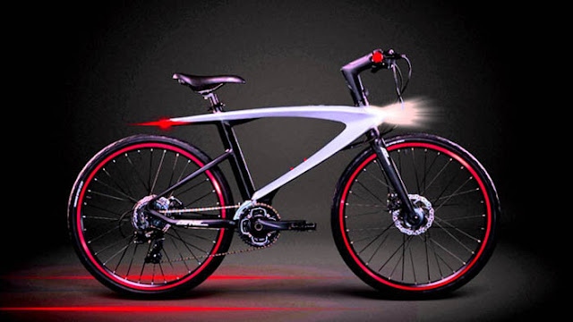 concept cool tech bicycle