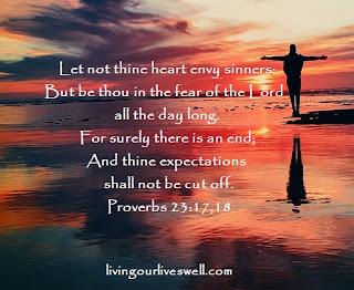 Proverbs 23:17,18