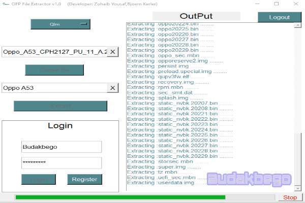 OFP File Extractor Tool, Free and Working 1000%