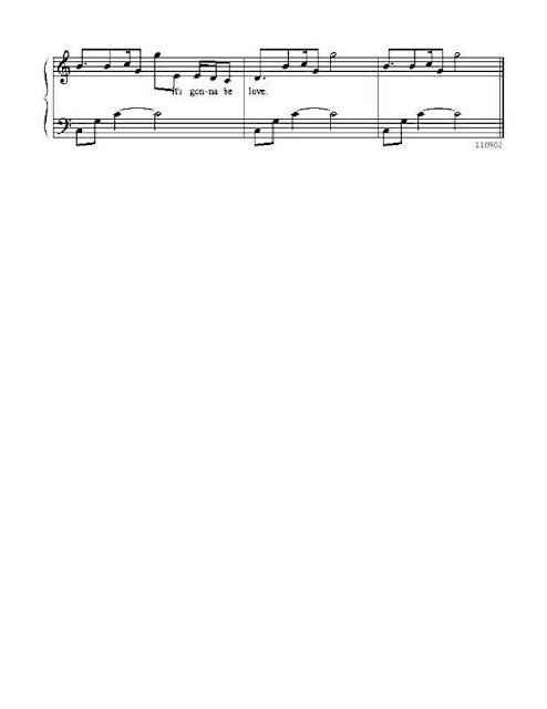Partitura Piano Mandy Moore