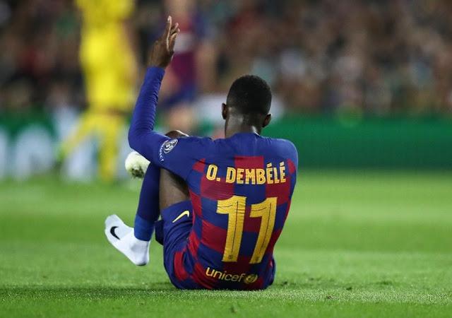 """""""Barcelona chẳng quan tâm gì đến Dembele"""""""
