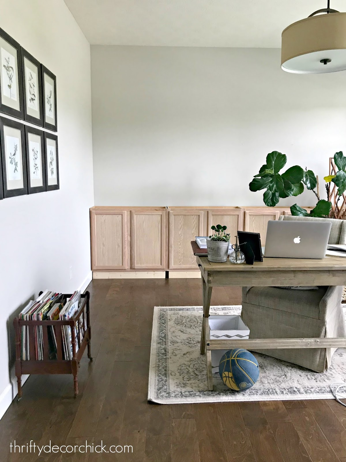 The Office Diy Built Ins Have Started From Thrifty Decor Chick