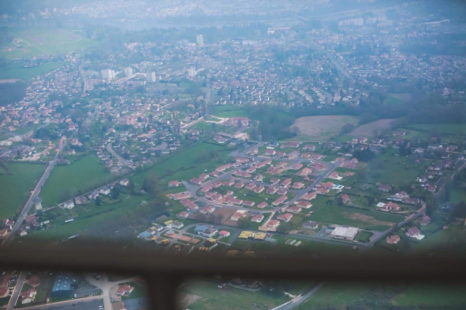 Vichy vue hélicoptère