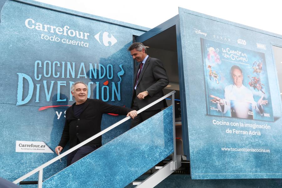 La caravana de la salud y Carrefour