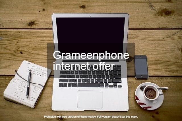 Grameenphone internet offer | Gp mb offer | Gp net offer