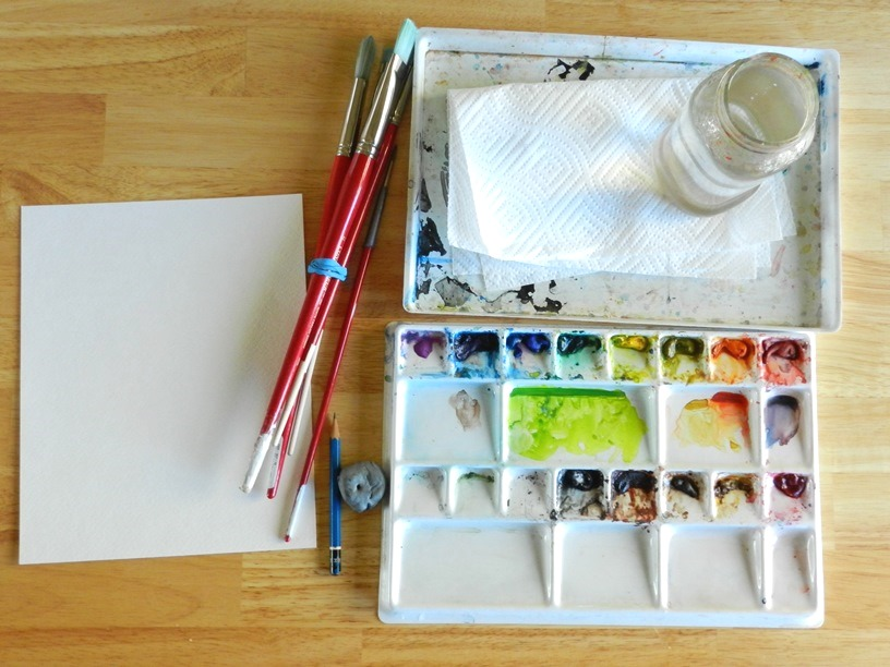 Watercolor Materials and Supplies