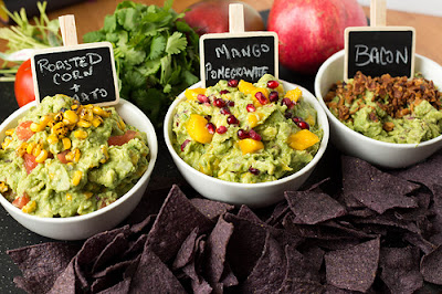 http://sharedappetite.com/recipes/three-creative-guacamole-recipes/