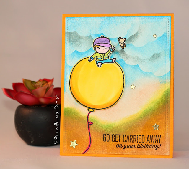 Post#208 - Me And My Daily Papercraft Blog - Handmade Card by PriCreated