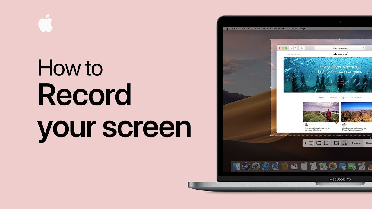 How to record your screen on a Mac