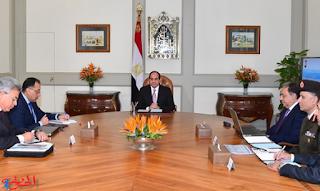 السيسي يناقش نقص الأدوية مع وزير الصحة