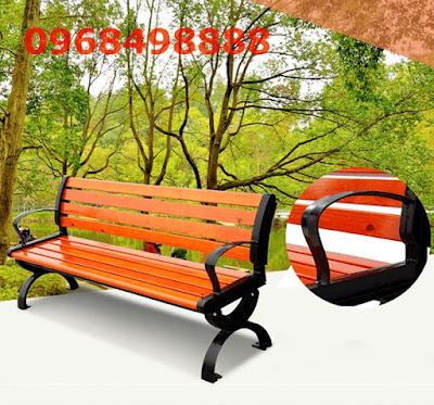 Ghế công viên kiểu dáng đơn giản, thanh lịch được nhiều người ưa chuộng