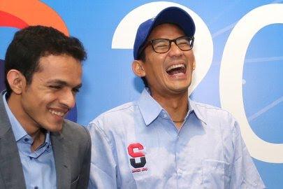 Sandiaga Uno tetap Oposisi