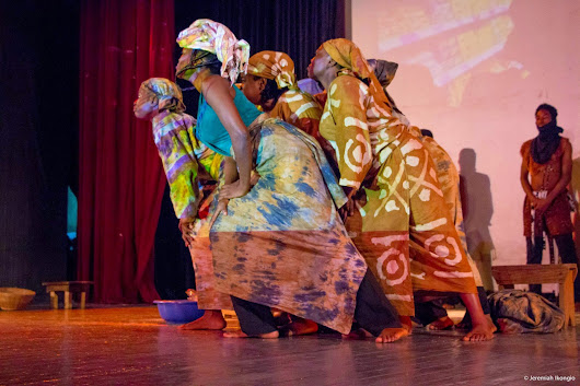In Photos: How Crown Troupe Thrilled Guests with 'Moremi' at National Theatre