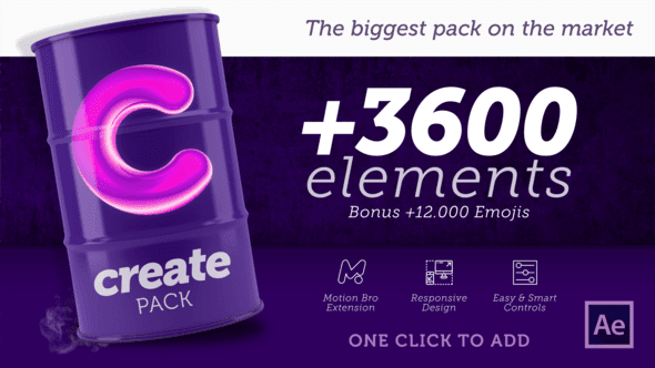 Create Pack 23938813 | After Effects Templates Free Download