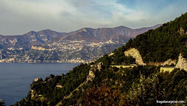 Estrada Costiera Amalfitana, Itália