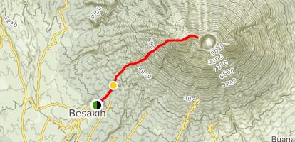 Pendakian Gunung Agung via Pura Besakih