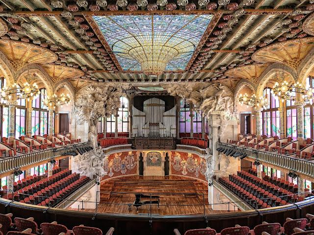 palau música catalana barcelona spain