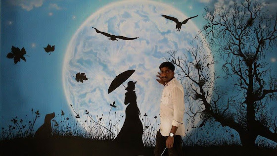wall painting artist in Kerala