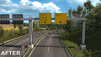 ets 2 realistic signs v1.1 screenshots 4