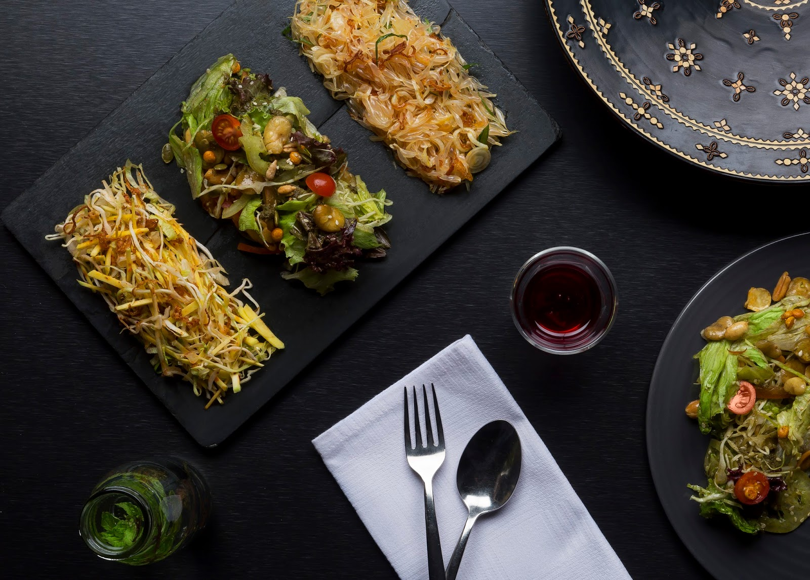 Dining at burma burma a new wholesome and innovative casual salad sampler at burma burma forumfinder Gallery