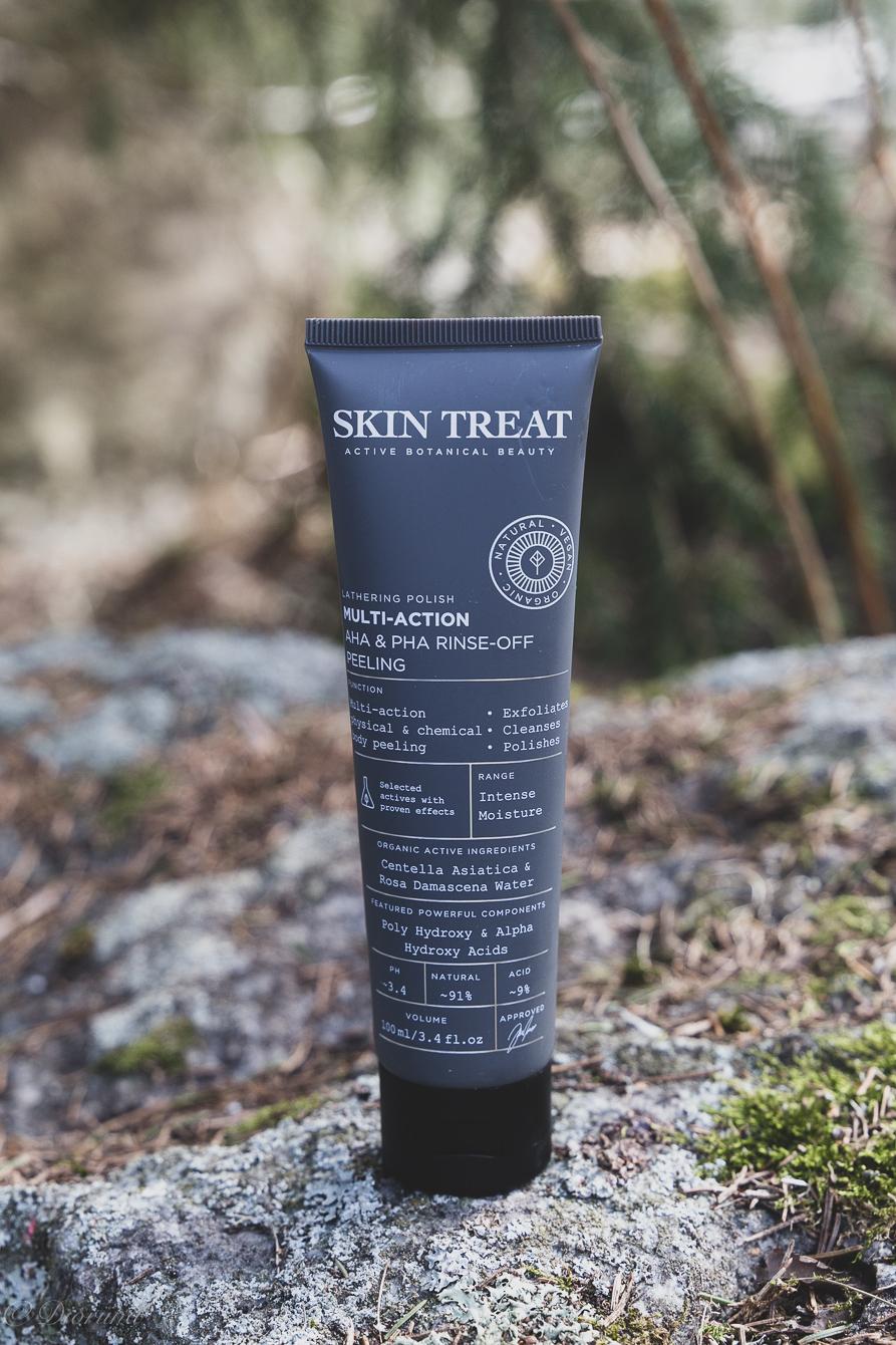 vartalonhoitoa  Skin treatin tuotteilla