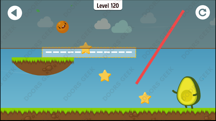 Where's My Avocado? Level 120 Solution, Cheats, Walkthrough, 3 Stars for Android, iPhone, iPad and iPod