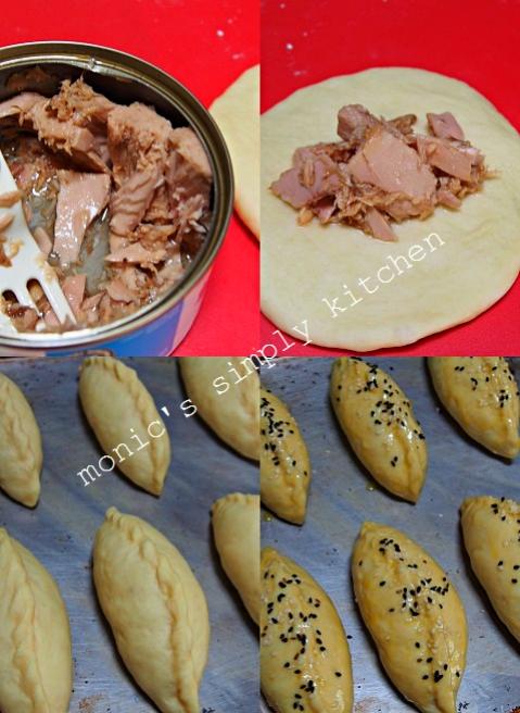 cara membuat roti isi tuna kaleng