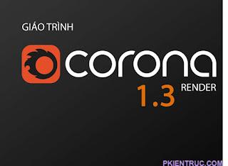 Giáo trình Corona render 1.3