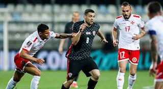 ملخص واهداف مباراة كرواتيا ومالطا (3-0) تصفيات كأس العالم