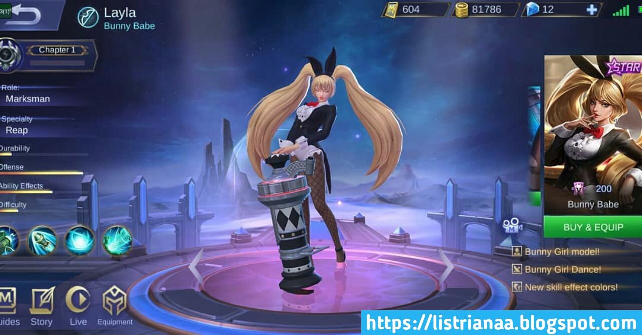 Cantik Banget Skin Starlight Layla Di Rework Lagi Mobile Legends 5