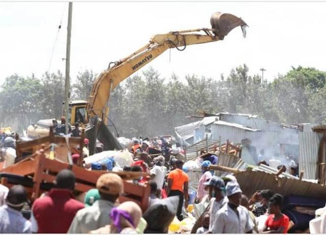 Gikomba market taken down photos