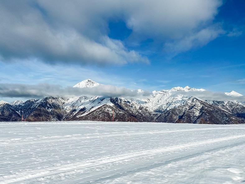 Pista sci di fondo Alpe Giumello