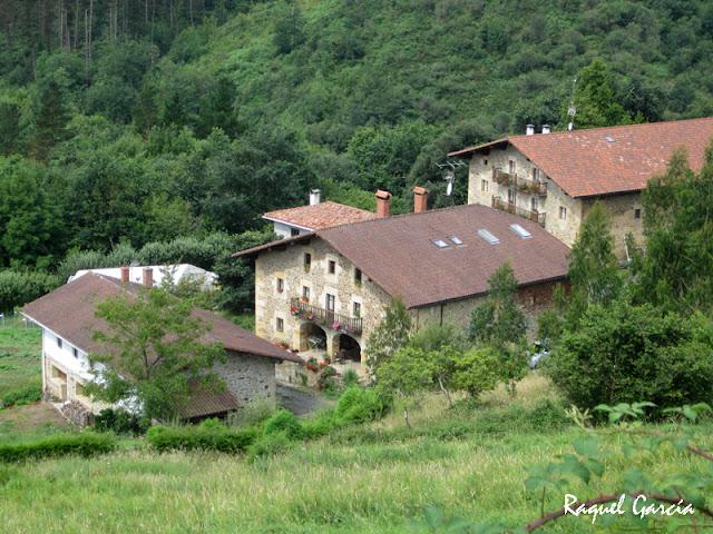 Barrio Unda en Muxika (Bizkaia)