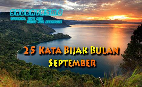 25 Kata Bijak Bulan September