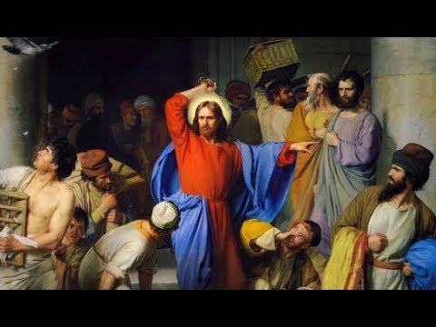 Jésus en colère