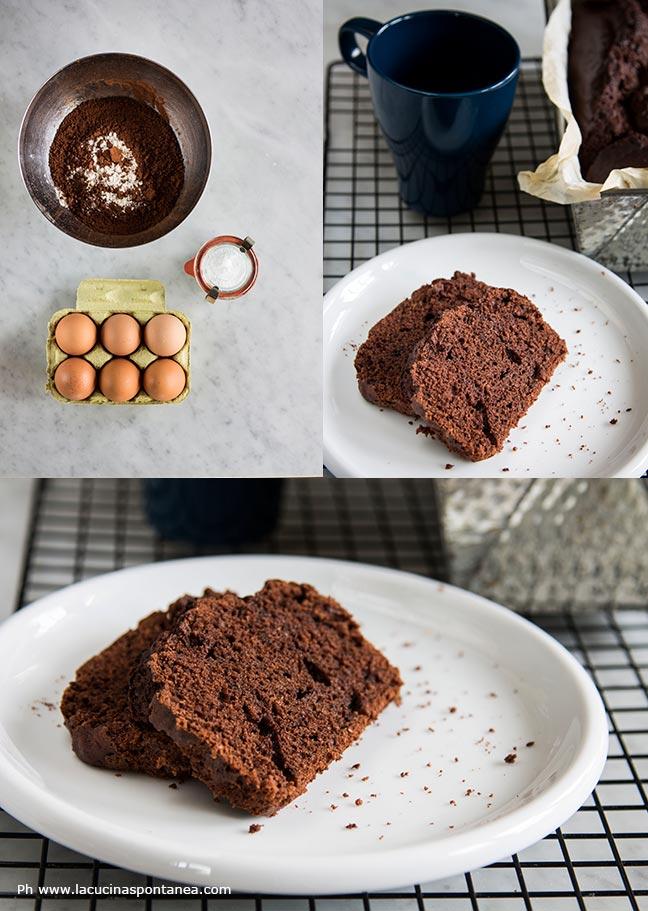 Foto passaggi torta da colazione senza lievito