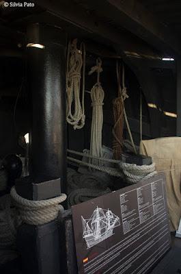 Interior del galeón