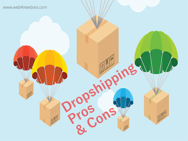 Dropshipping Pros and Cons - Web4newbies.com
