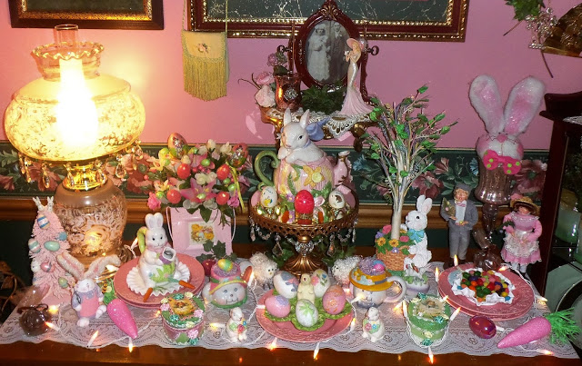 Easter Buffet in the Dining Room, 2018